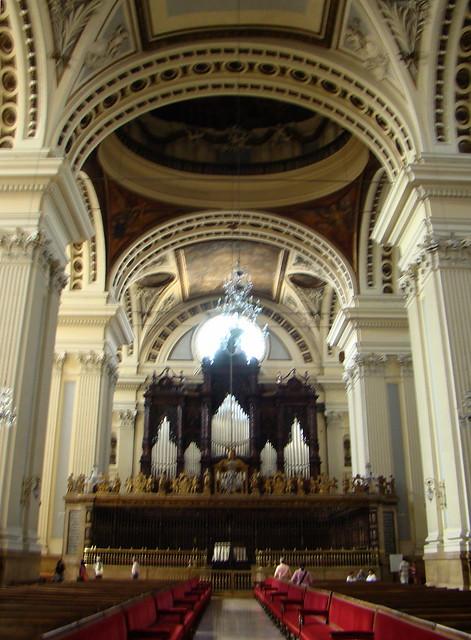 Coro Reja y Organo Catedral Basilica de Nuestra Señora del Pilar Zaragoza 19
