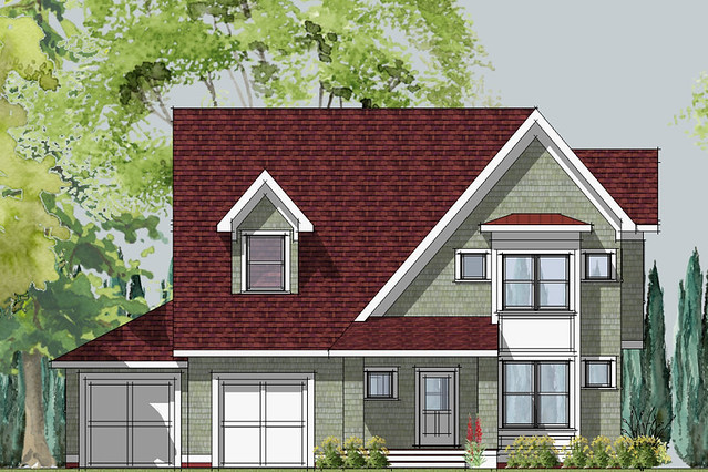 Hastings Small Cottage Front Elevation House Designed By
