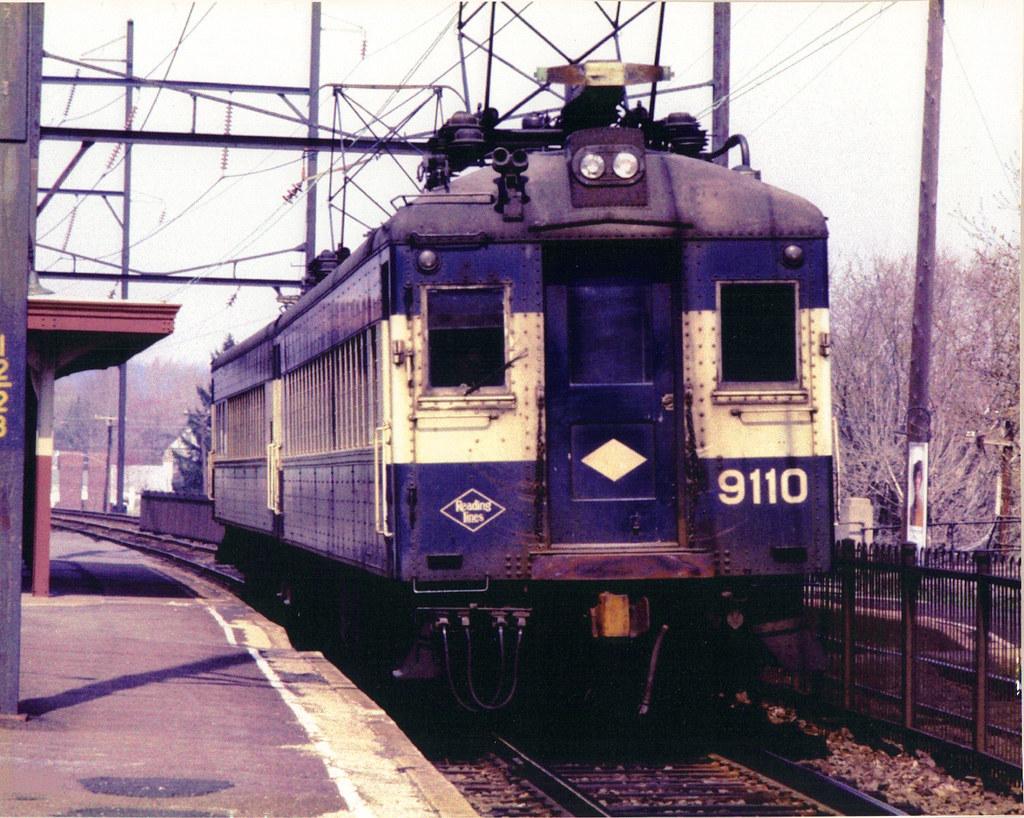Reading Railroad Commuter Train