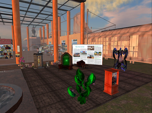 Main courtyard of the Prim Perfect/MetaMakeover SL5B build
