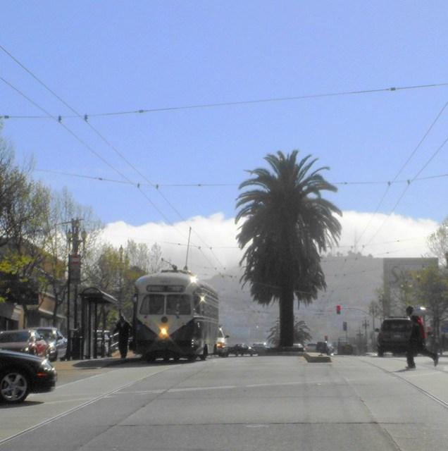 Market St. - Fog & Muni