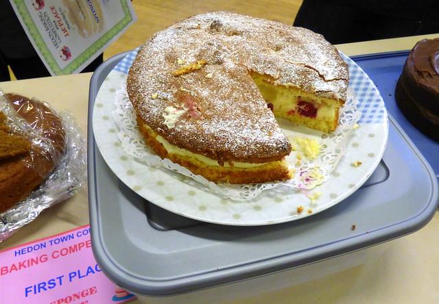 Sponge Cake by Sarah Holley