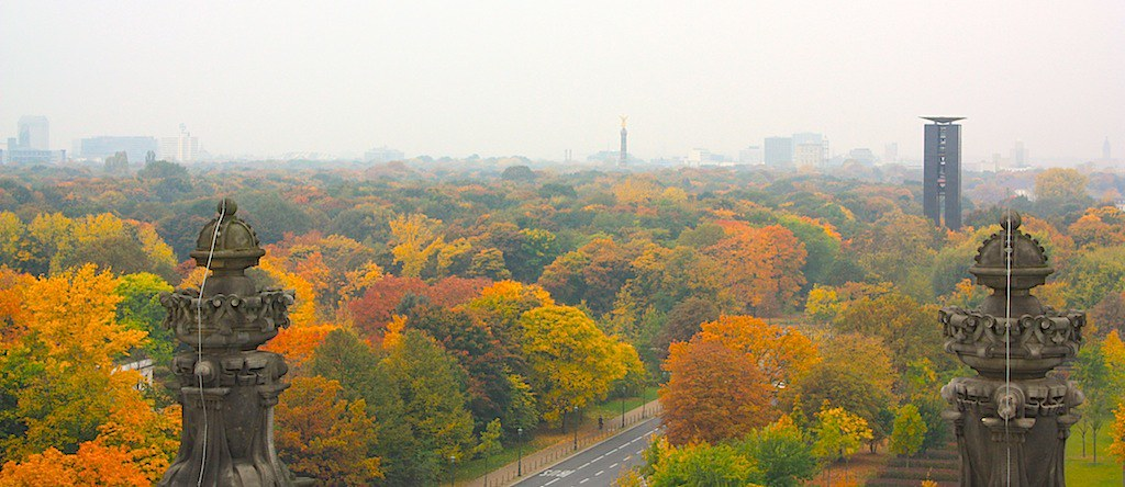 Tiergarten, Platz der Republik, Siegesäule, Berlin