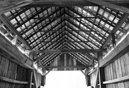 Inside Cox Bridge
