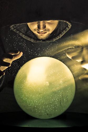 Wizard, Crystal Ball