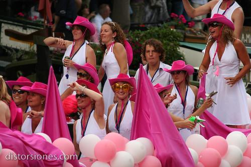 Chochas en rosa
