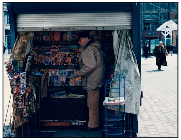 Newstand on State Street circa 1996