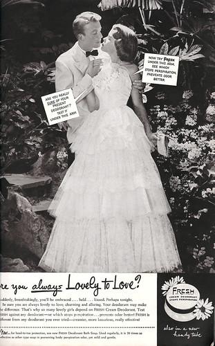 1950's Vintage Ad! Soiree Style!