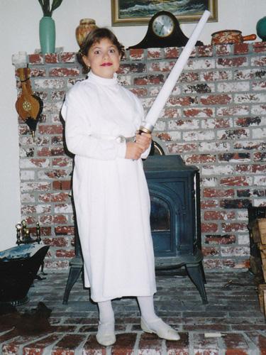 As Princess Leia