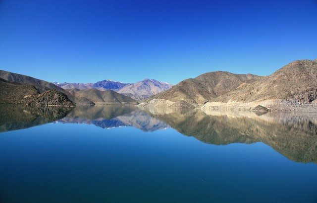 Embalse Puclaro, Region de Coquimbo, Chile