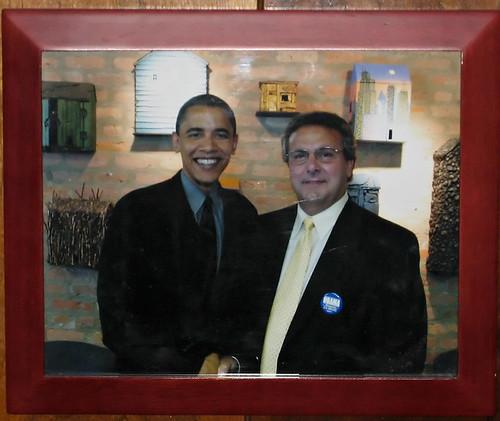 Obama and Stuart Levine