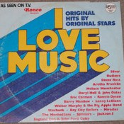 Ronco presents:  I Love Music - but this will do in a pinch