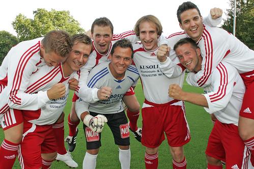 2009-07-23 SC Brunn - Schmidt - Maucha - Koch - Prcek - Haselmayer - Lämmermayer - Hofecker 0000