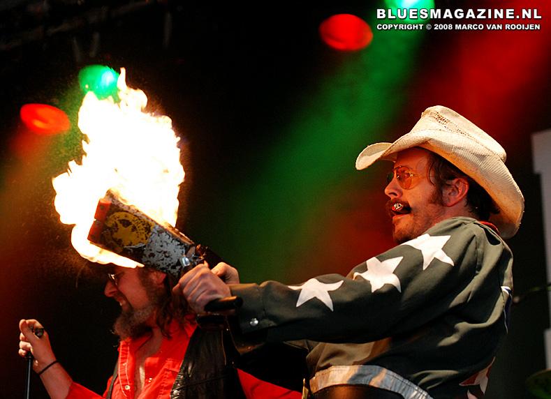 White Cowbell Oklahoma @ BluesRock Festival Tegelen