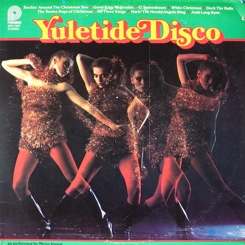 Yuletide disco cover