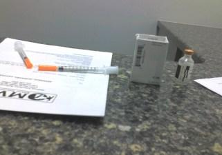 Image result for canine insulin syringe