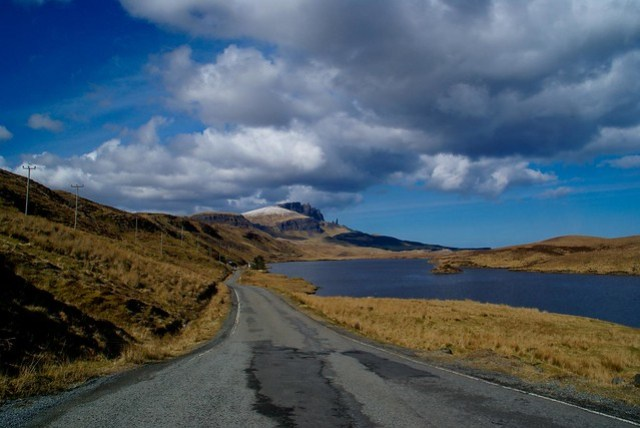 Road to The Old Man of Storr