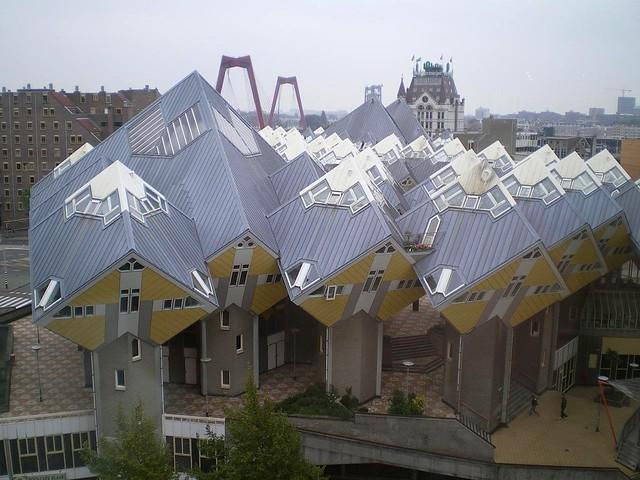 Blom's Cube Houses