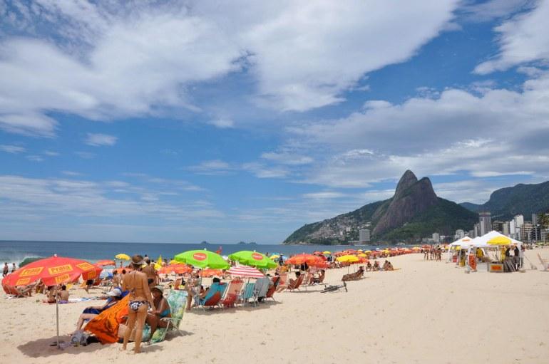 Mike Vondran, Ipanema Beach, Rio de Janeiro, Brazil January 3 2009.