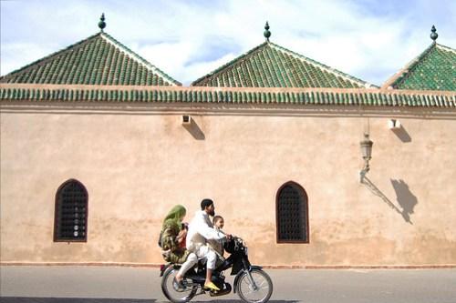 Marrakech, famiglia