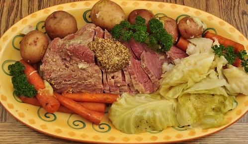 Mmm...corned beef platter