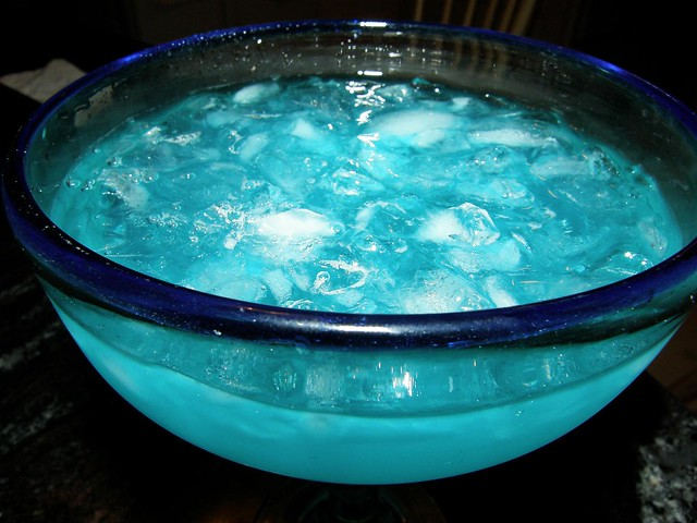 Electric blue margarita