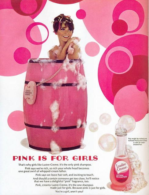 Pink is for girls