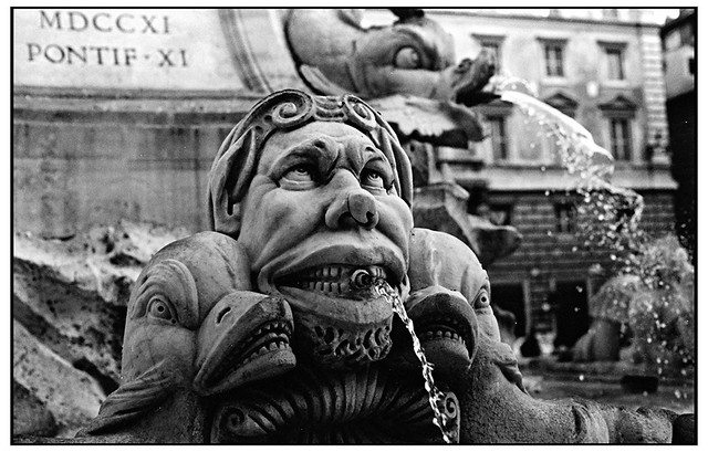 Fountain near the Pantheon Rome 1993