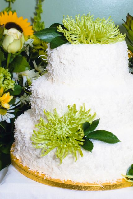 andrea's vegan coconut-lemon cake
