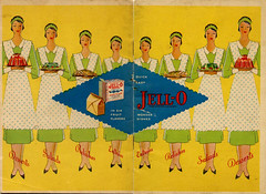 Cover of Jell-O cookbook by curly-wurly