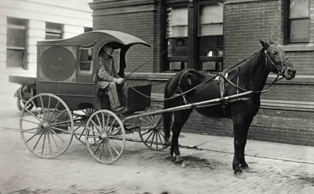 City Mail Wagon