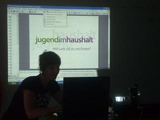 Jugend im Haushalt Berlin08 Workshop