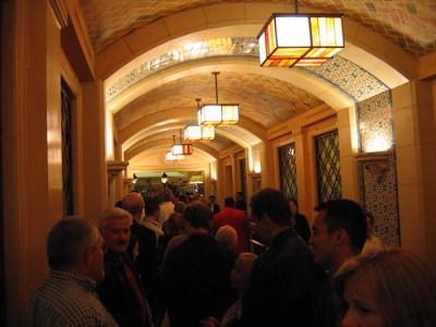 Bellagio buffet line