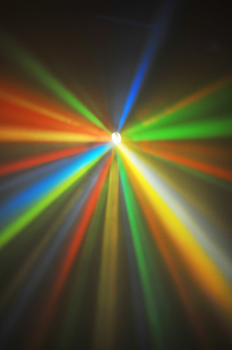 Colorful beams