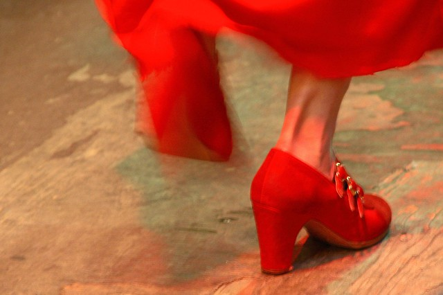 Flamenco feet
