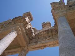 Detalle del tetrapilón de Afrodisias.
