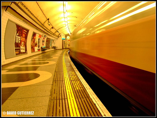 Lights Travelling With London Underground