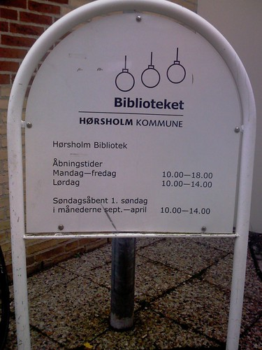 Hørsholm Biblioteket, Denmark by TechSoup for Libraries  (CC by-nc)