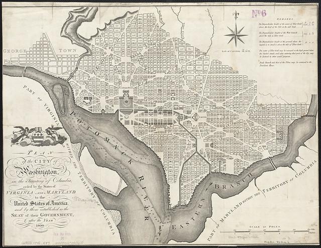 Plan of the city of Washington[...]