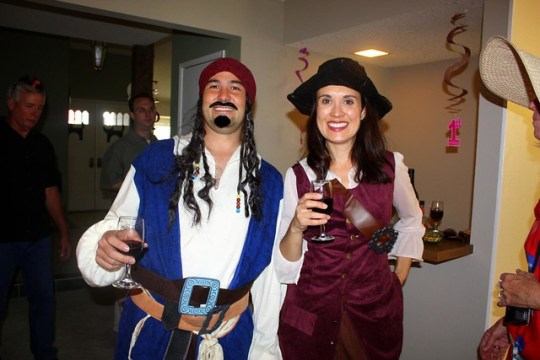 Sheridan & Monica / Pirates!