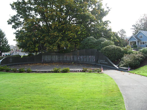Olympia: Washington State Vietnam Veterans Memorial on Capitol Campus