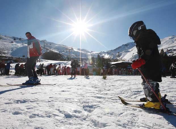 DaVID - start ski-day