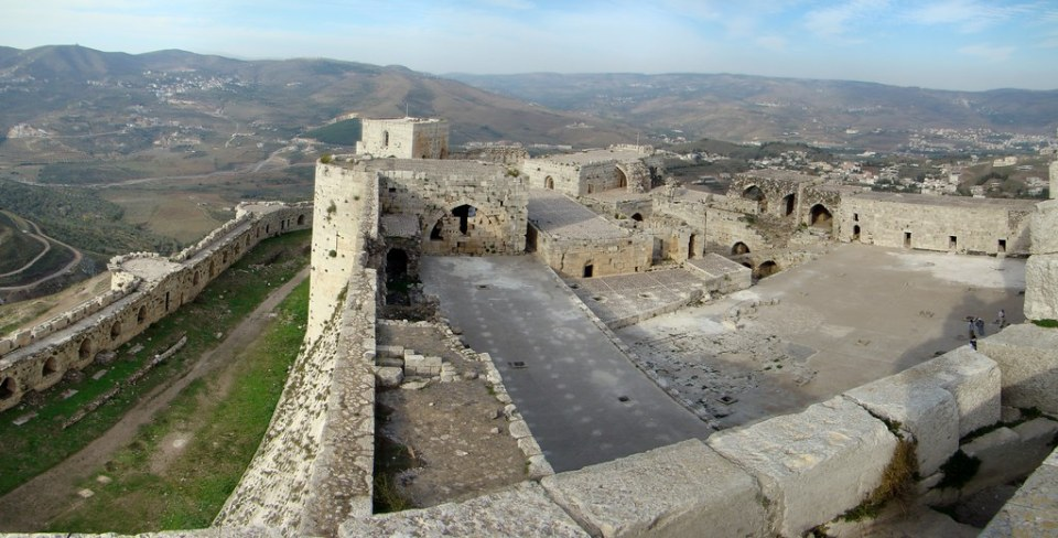 Castillo Crac de los Caballeros Siria