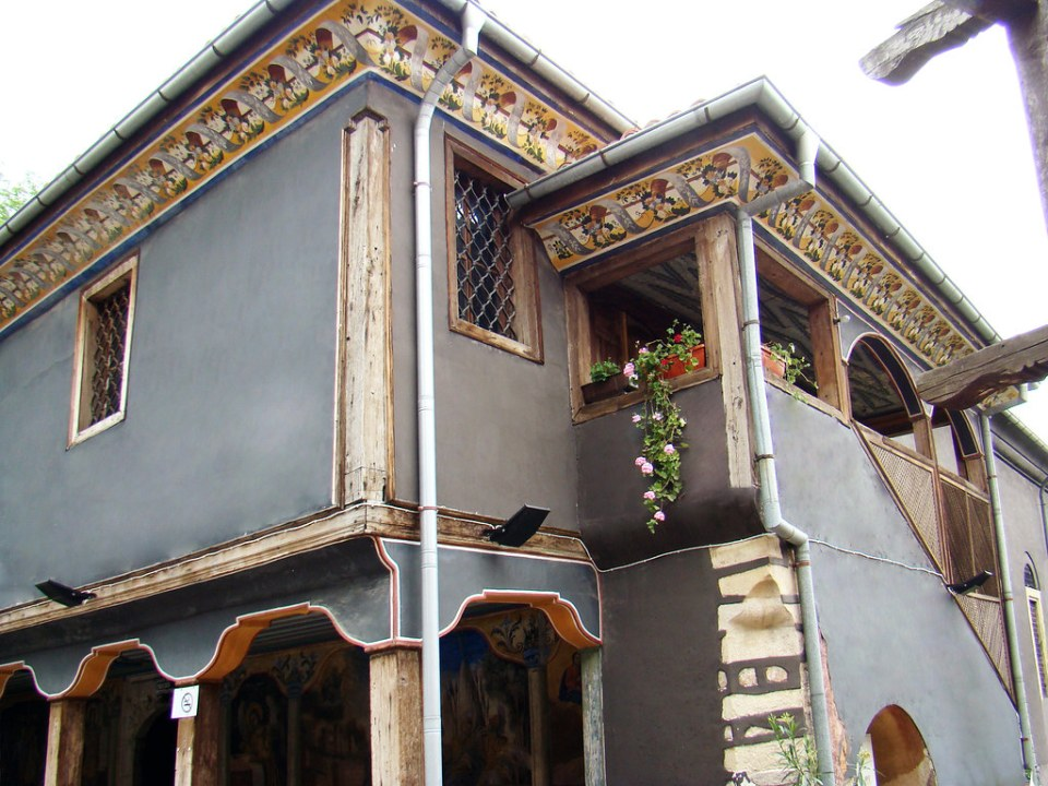Bulgaria exterior Iglesia de San Konstantin y Santa Elena Plovdiv 01