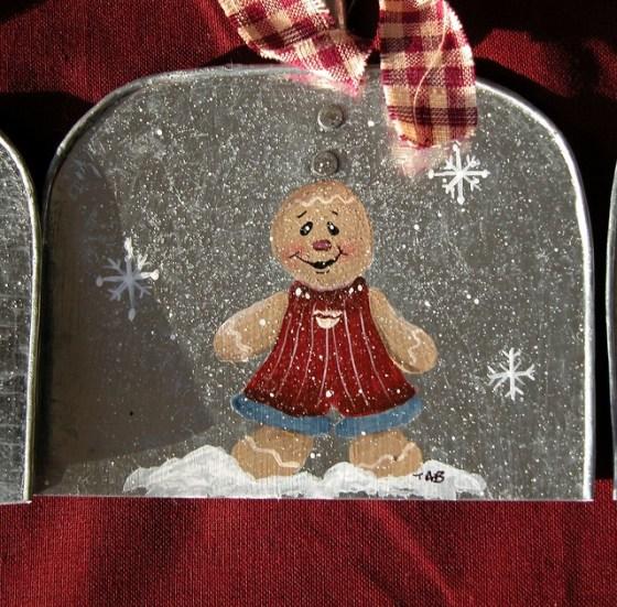 Wooden Snowman Crafts