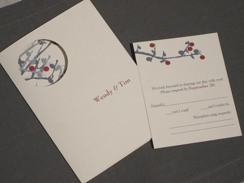 W&T Wedding Invitation