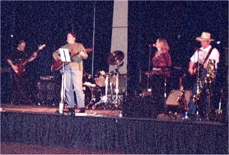 Carolyn on stage