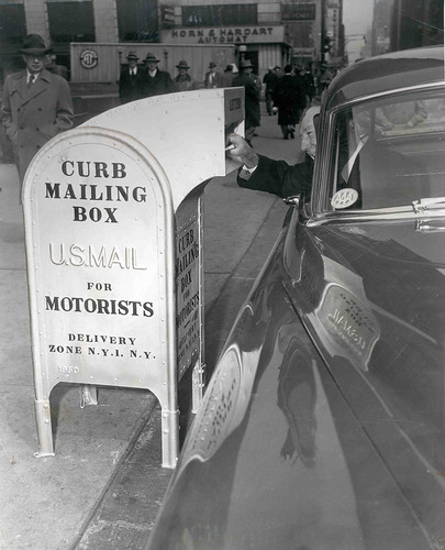 Snorkel Chute Curbside Mailbox