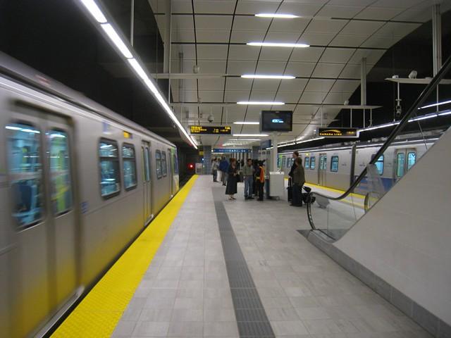 Canada Line Station