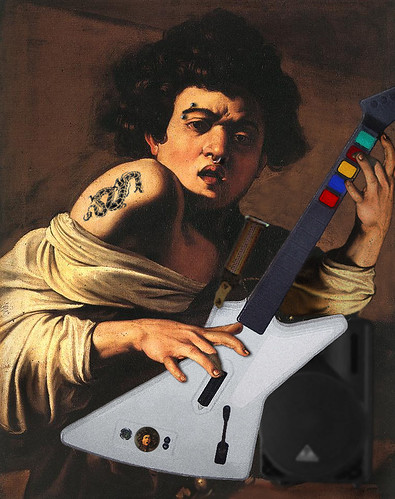 Caravaggio's Guitar Hero